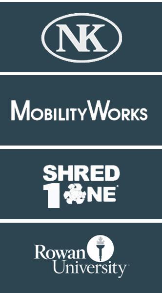 Nielsen-Kellerman, MobilityWorks, ShredOne, Rowan University