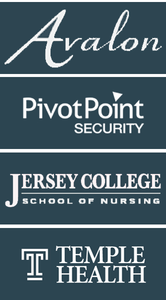 Avalon, PivotPoint Security, Jersey College School of Nursing, Temple Health