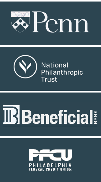 Upenn, National Philanthropic Trust, Beneficial Bank, PFCU