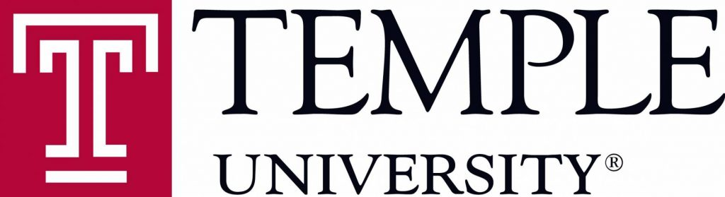 Temple University Logo with Space