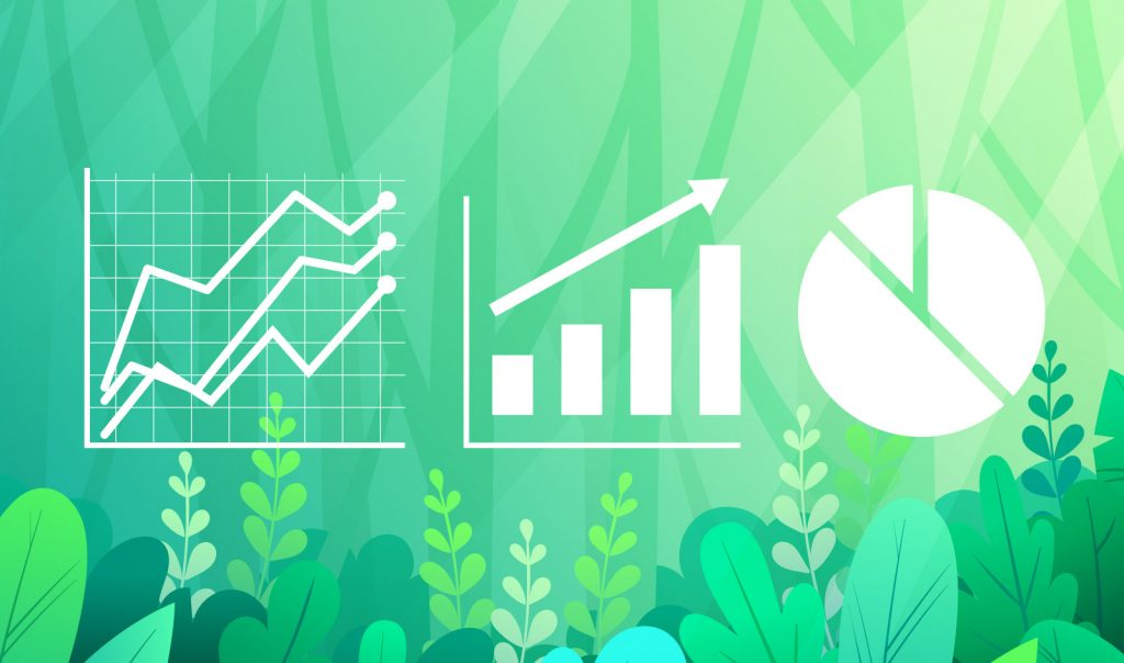 SEO Icons on Green Background