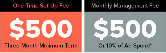 Digital marketing service pricing